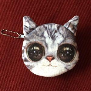 Handbags - Cat coin purse